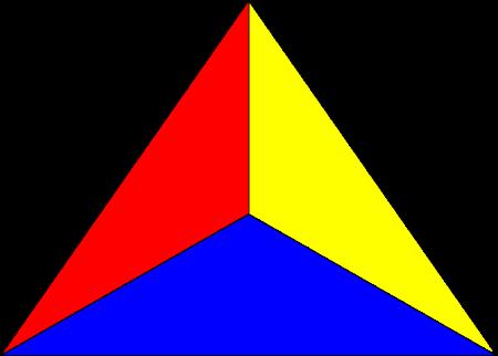Dreiecke 20 on Post 20